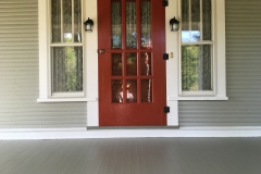Front door entrance painting, Greensburg, Pa