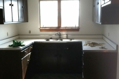 Home staging Kitchen, before