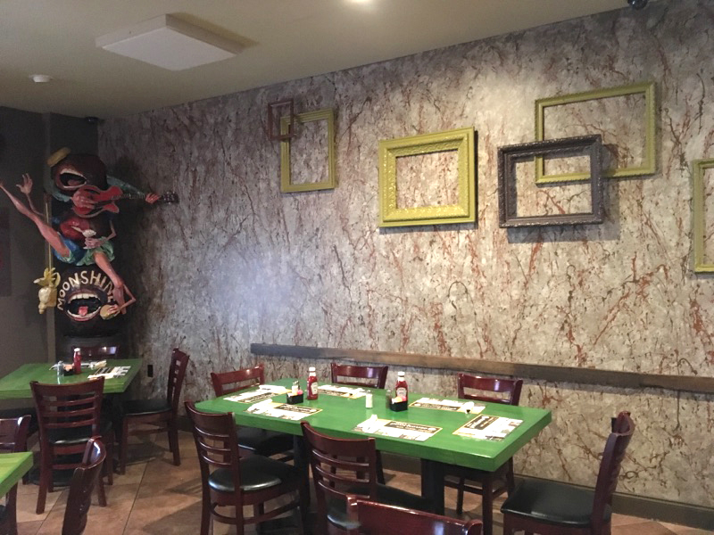 Restaurant Wall Painting