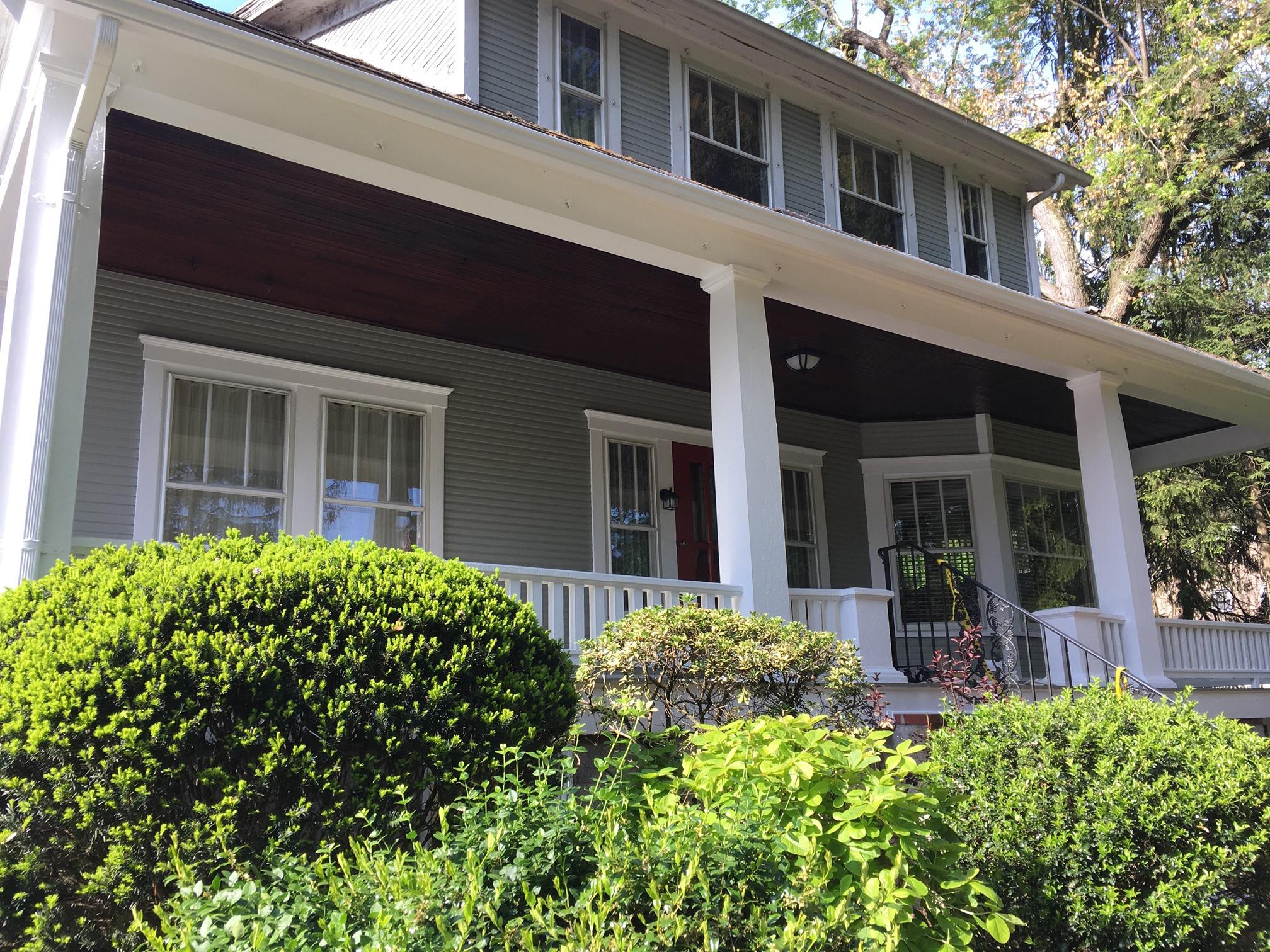 exterior porch repaint